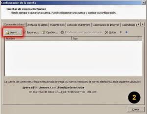 correo Outlook 2007