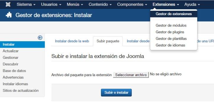 Como instalar popup en Joomla y personalizarlo - 01