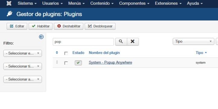 Como instalar popup en Joomla y personalizarlo - 02