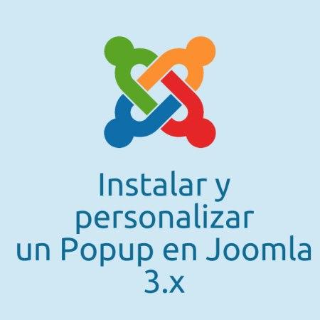 Popup Joomla
